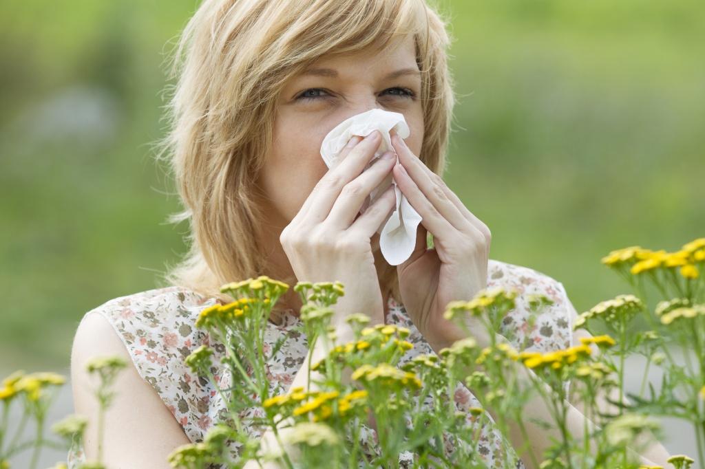 сезонная аллергия на цветение