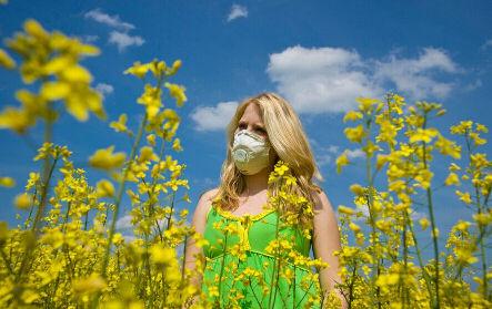 аллергия на растения - фото