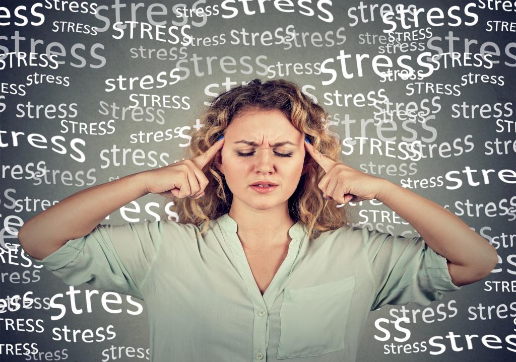Раздражение кожи головы: причины, стресс