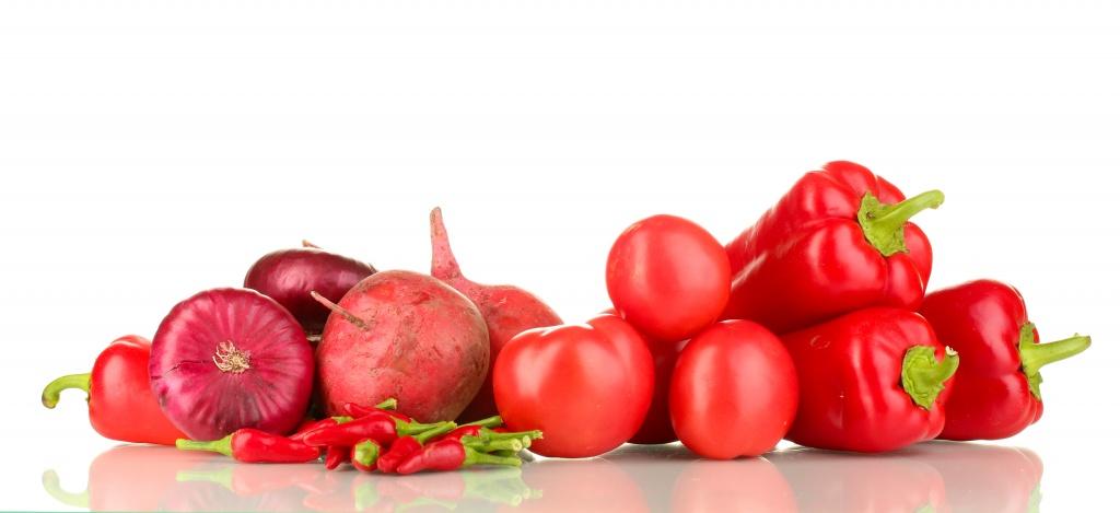 аллергия на красные овощи, фото